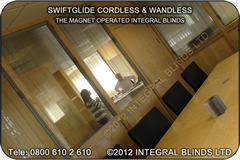Integrated sealed unit blinds