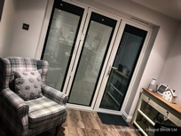 Integral blinds ideal for bifold doors